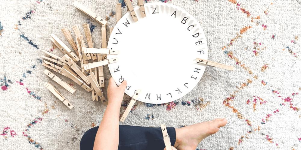 easy preschool letter activities